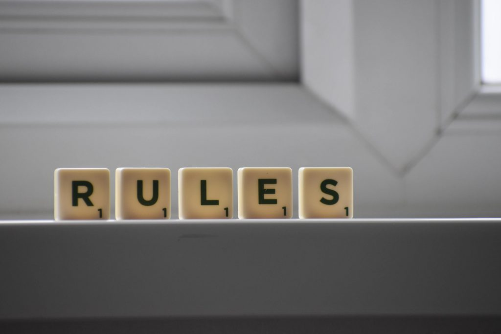HOA bylaws and rules